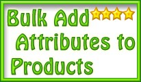 Bulk Add Attributes To Products